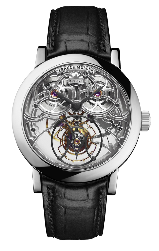 Giga Tourbillon round skeleton